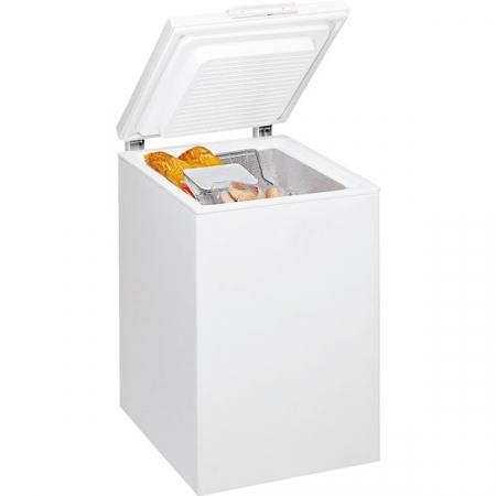 Lada frigorifica WHIRLPOOL WH1410 A+E, 6th Sense, 133 l, H 86.5 cm, Clasa F, alb [1]