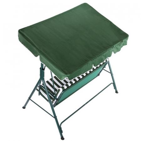 Leagan/Balansoar pentru gradina,terasa,3 locuri,170x153x110 cm,structura metal [3]