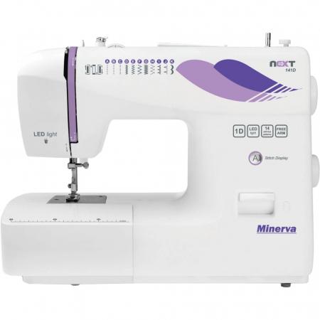 Masina de cusut Minerva Next141D, 14 programe, 850 imp/min, Alb0