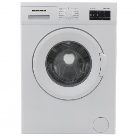 Masina de spalat Heinner HWM-V7010D++, 7 kg, 1000 RPM, Clasa A++, Display LED, 60 cm, Alb0