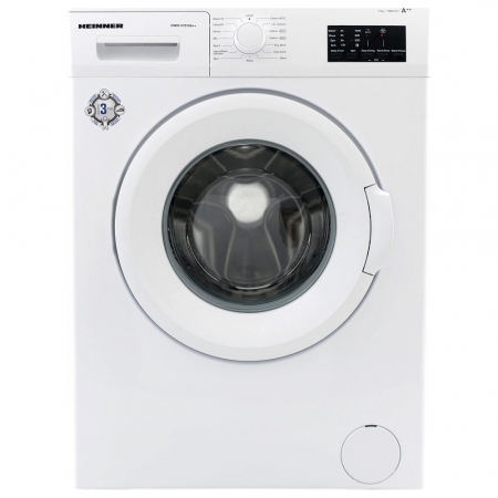Masina de spalat Heinner HWM-V7014D++, 7 kg, 1000 RPM, Clasa D, Display LED, Alb0