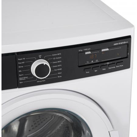 Masina de spalat Heinner HWM-VF4814D+++, 8 kg, 1400 RPM, Clasa D, Sistem Eco Logic, Alb [4]