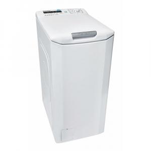 Masina de spalat rufe cu incarcare verticala Candy CST G384D-S, 8 kg, 1400 rpm, A+++, Functii SMART prin NFC, LCD, Alb 31007561