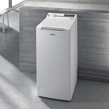 Masina de spalat rufe independenta cu incarcare verticala Whirlpool: 7,0kg - TDLR 7220SS EU/N [9]