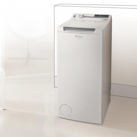 Masina de spalat rufe independenta cu incarcare verticala Whirlpool: 7,0kg - TDLR 7220SS EU/N [8]
