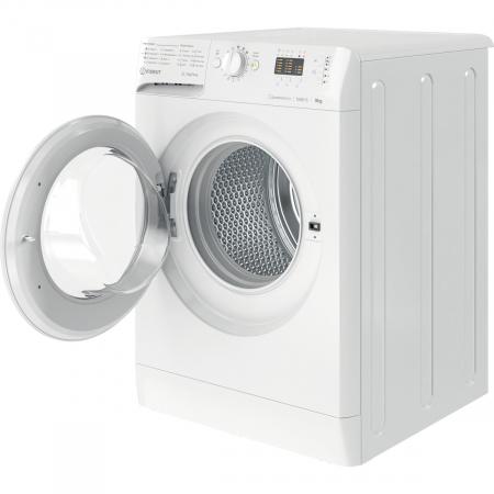 Masina de spalat rufe Indesit MTWA91283WEE, 9kg, 1200 RPM, Clasa A+++, Motor Inverter, Display LED+, MyTime, Fast Cycles, Alb7