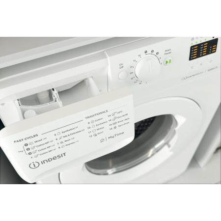 Masina de spalat rufe Indesit MTWA91283WEE, 9kg, 1200 RPM, Clasa A+++, Motor Inverter, Display LED+, MyTime, Fast Cycles, Alb4