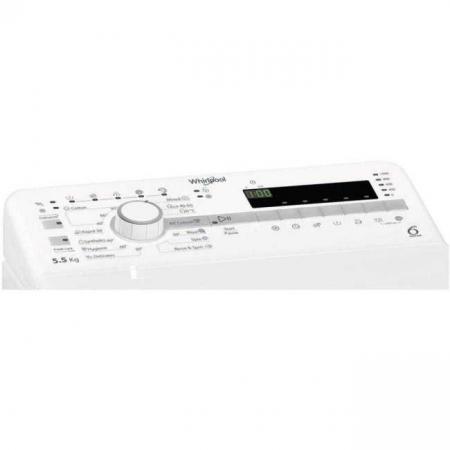 Masina de spalat rufe Whirlpool TDLR 55020S EU/N, 1000 RPM, 5.5 kg, Clasa E, (clasificare energetica veche Clasa A++) [2]