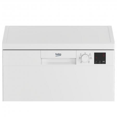 Masina de spalat vase Beko DVN06430W, 14 seturi, 6 programe, Clasa D, Automatic Door Opening, AutoGlassShield, 60 cm, Alb [2]
