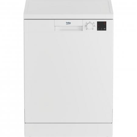 Masina de spalat vase Beko DVN06430W, 14 seturi, 6 programe, Clasa D, Automatic Door Opening, AutoGlassShield, 60 cm, Alb [0]