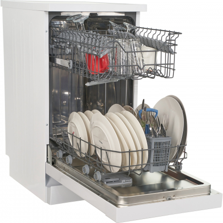 Masina de spalat vase Heinner HDW-FS4505WA++, 10 seturi, 5 programe, Clasa A++, Control electronic, 45 cm, Alb5