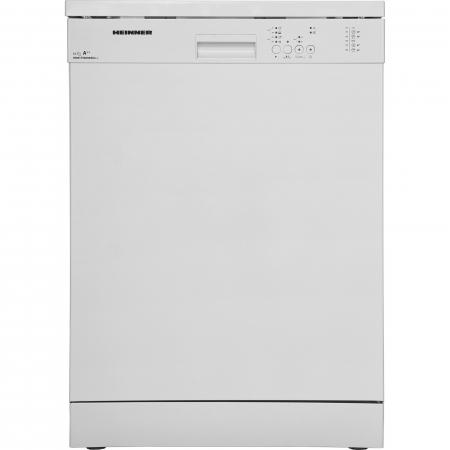 Masina de spalat vase Heinner HDW-FS6006WA++, 12 seturi, 6 programe, Clasa A++, Control electronic, 60 cm, Alb0