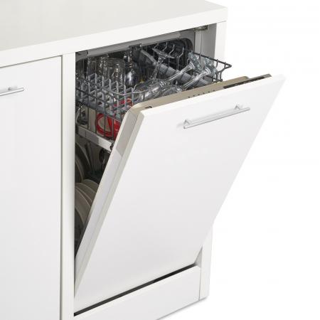 Masina de spalat vase incorporabila Heinner HDW-BI4506A++, 10 seturi, 6 programe, Clasa A++, Control electronic, Display LED, 45 cm [2]