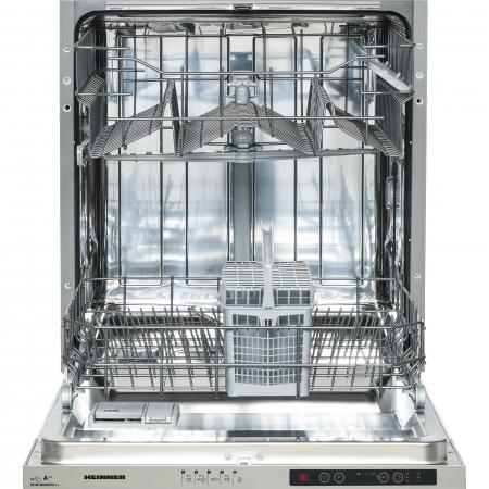 Masina de spalat vase incorporabila Heinner HDW-BI6005A++, 12 seturi, 5 programe, Clasa A++, Control electronic, Display LED, Aquastop, 60 cm4