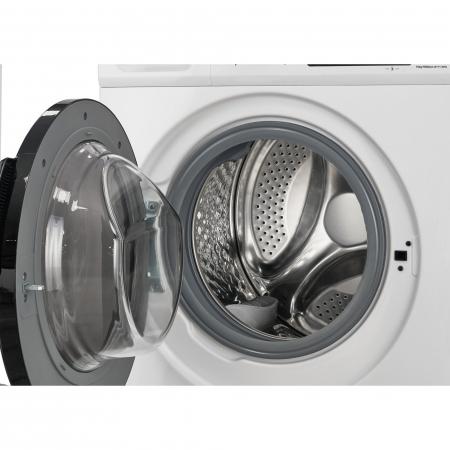 Masina de spalat Heinner HWM-M0914INVB+++, 9 kg, 1400 RPM, Clasa B, Motor Inverter, Display touch, Start intarziat, Alb [2]