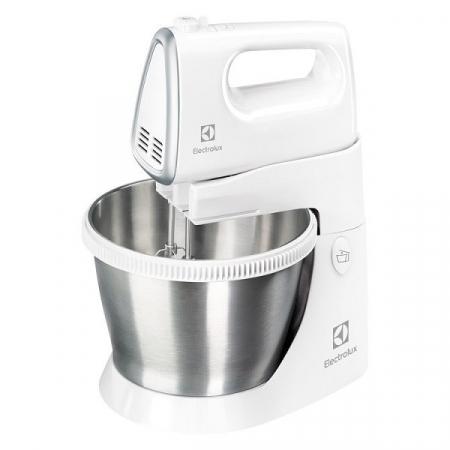 Mixer cu bol Electrolux ESM3300, 450 W, 5 Viteze, Bol rotativ din inox, Alb0