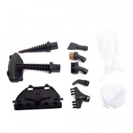 Mop cu aburi Daewoo DMO160, 1500 W, 0.4 L, recipient detergent, accesorii incluse, Alb5