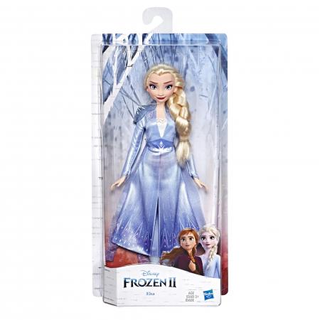 Papusa Disney Frozen II - Elsa, cu articulatii, 27 cm [0]