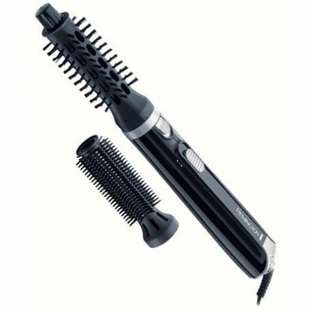 Perie cu aer cald Remington Style & Curl AS404, 400W, 2 trepte de temperatura, 2 accesorii, Negru2