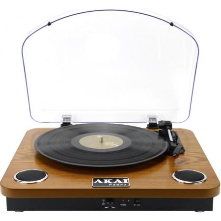 Pick-up stereo AKAI ATT-11BTN, Bluetooth , difuzoare incorporate [0]