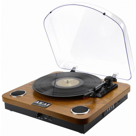 Pick-up stereo AKAI ATT-11BTN, Bluetooth , difuzoare incorporate [1]