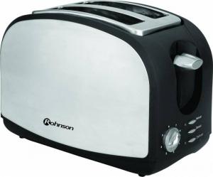 Prajitor paine Rohnson R207, 900W, functie dezghetare, 8 trepte, Inox0