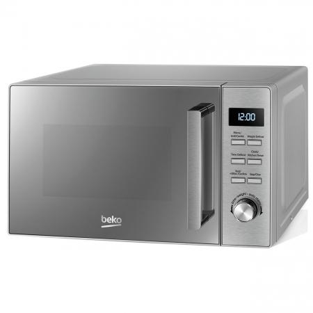 Cuptor cu microunde Beko MGF20210X, 20 l, 800W, Electronic, Grill, Inox2
