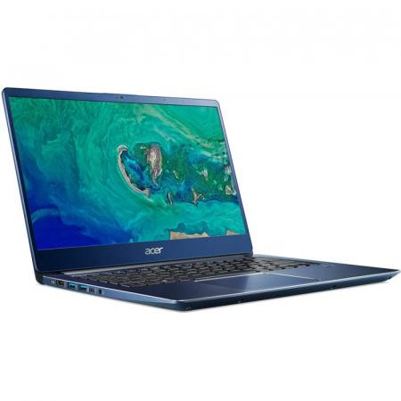 Ultrabook Acer 14'' Swift 3 SF314-56, FHD IPS, Procesor Intel® Core™ i5-8265U (6M Cache, up to 3.90 GHz), 8GB DDR4, 256GB SSD, GMA UHD 620, Linux, Blue1