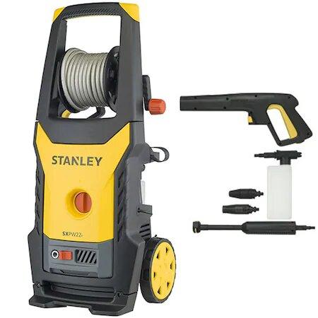 Masina de spalat cu presiune Stanley, 2.2 kW, 150 bar, 440 L/H, accesorii incluse: lance, pistol, bidon detergent, furtun 8 m0