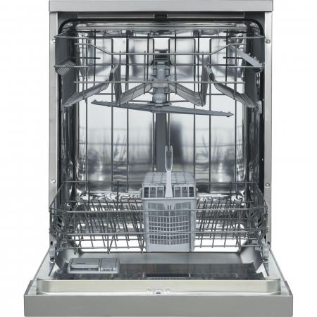 Masina de spalat vase Heinner HDW-FS6006DSA++, 12 seturi, 6 programe, Clasa A++, Control electronic, Display LED, 60 cm, Argintiu [5]