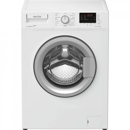 Masina de spalat rufe Slim Arctic APL61222BDW3, 6kg, 1200 RPM, Clasa A+++, Display, Alb