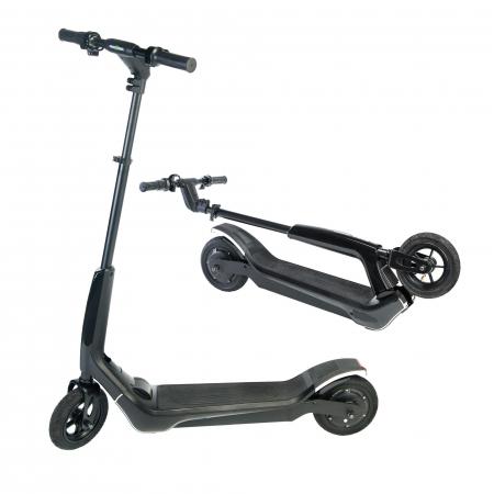 Trotineta electrica Freewheel Rider T1, Viteza 20 km/h, Autonomie 25 km, Motor 300W, Aplicatie smartphone, Roti gonflabile 8 inch, Negru0