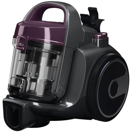 Aspirator fara sac Bosch 3A BGC05AAA1, 700W, 1.5 l, Filtru igienic PureAir, Easy Clean, Negru/Mov [1]