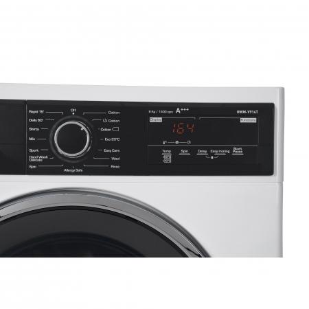 Masina de spalat rufe Heinner HWM-V914T, 9 Kg, 1400 RPM, Clasa A+++, Display Digital, Touch control, Sistem Eco Logic, Alb4