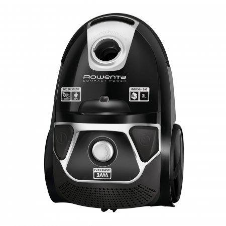Aspirator Rowenta Compact Power Animal Care RO3985EA, 750W, Tub telescopic din metal, Sac Hygiene+, Negru [0]