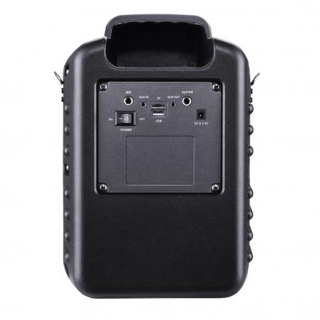 Boxa portabila Akai ABTS-I6 cu BT, lumini disco, app control, baterie 1800 mAH2