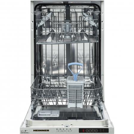 Masina de spalat vase incorporabila Heinner HDW-BI4505A++, 10 seturi, 5 programe, Clasa A++, Control electronic, Display LED, Aquastop, 45 cm1