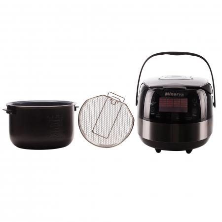 Multicooker Minerva Experience M49, 860 W, 5 L, 49 programe, Negru4
