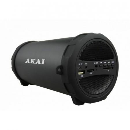 Boxa portabila Akai ABTS-12C, radio FM, karaoke, negru1