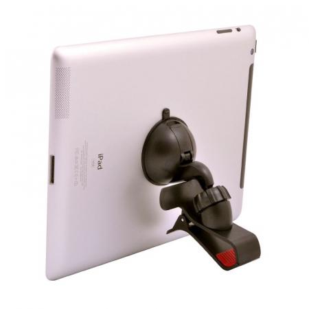 Suport auto Procell Clips 360 pentru telefoane si tablete, Negru3
