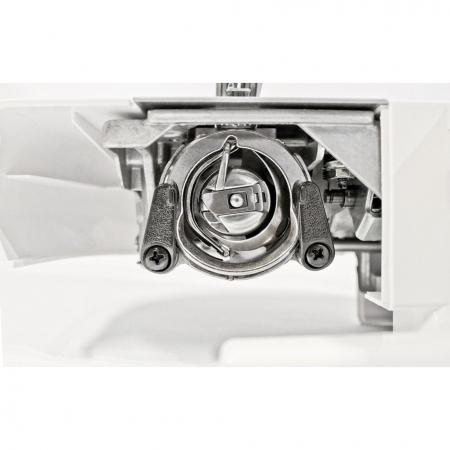 Masina de cusut Minerva Max10M, 10 programe, 800 imp/min, Alb/Rosu3