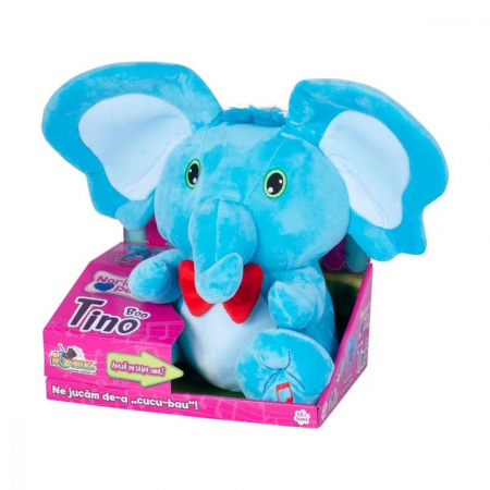 Jucarie de plus Noriel Elefant Cucu Bau - Tino Boo Elefantel2