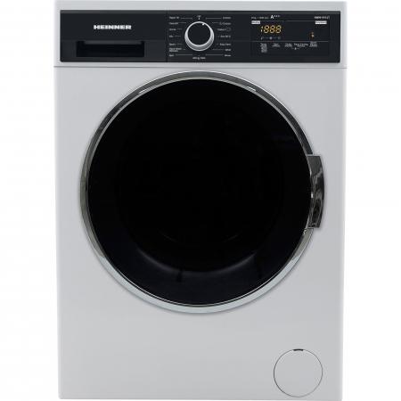 Masina de spalat rufe Heinner HWM-V914T, 9 Kg, 1400 RPM, Clasa A+++, Display Digital, Touch control, Sistem Eco Logic, Alb0