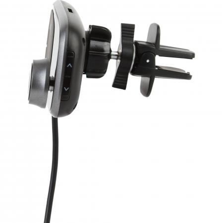 Modulator FM Akai FMT-16BT cu suport magnetic pentru telefon, bluetooth, microSD, 2 x USB3