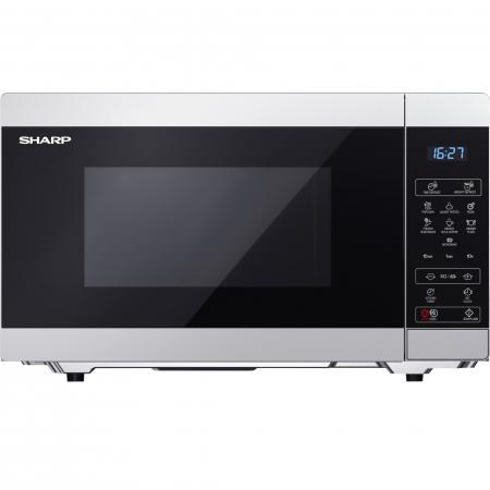 Cuptor cu microunde Sharp YCMS51ES, 25L, 900W, Gril 1000W, Digital, Argintiu0