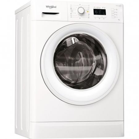 Masina de spalat rufe Slim Whirlpool FreshCare+ FWSL61052W EU, 6 kg, 1000 rpm, Clasa A++, Alb0