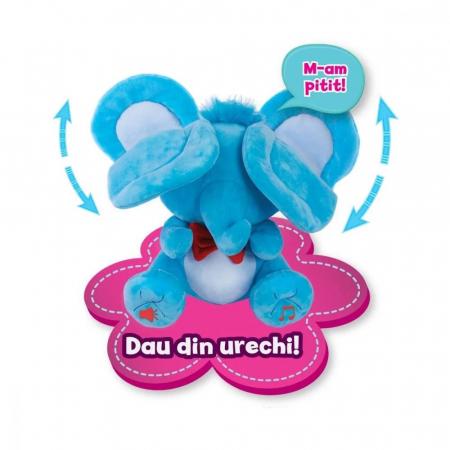 Jucarie de plus Noriel Elefant Cucu Bau - Tino Boo Elefantel5