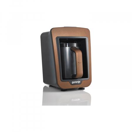 Aparat pentru preparat cafea turceasca Gorenje ATCM730T, 730W, 270 ml, Negru/Maro2