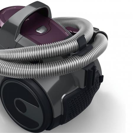 Aspirator fara sac Bosch 3A BGC05AAA1, 700W, 1.5 l, Filtru igienic PureAir, Easy Clean, Negru/Mov [2]
