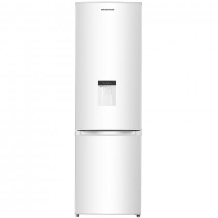 Combina frigorifica Heinner HC-N262WD+, 262 l, Dozator de apa, Clasa A+, H 180 cm, Alb0